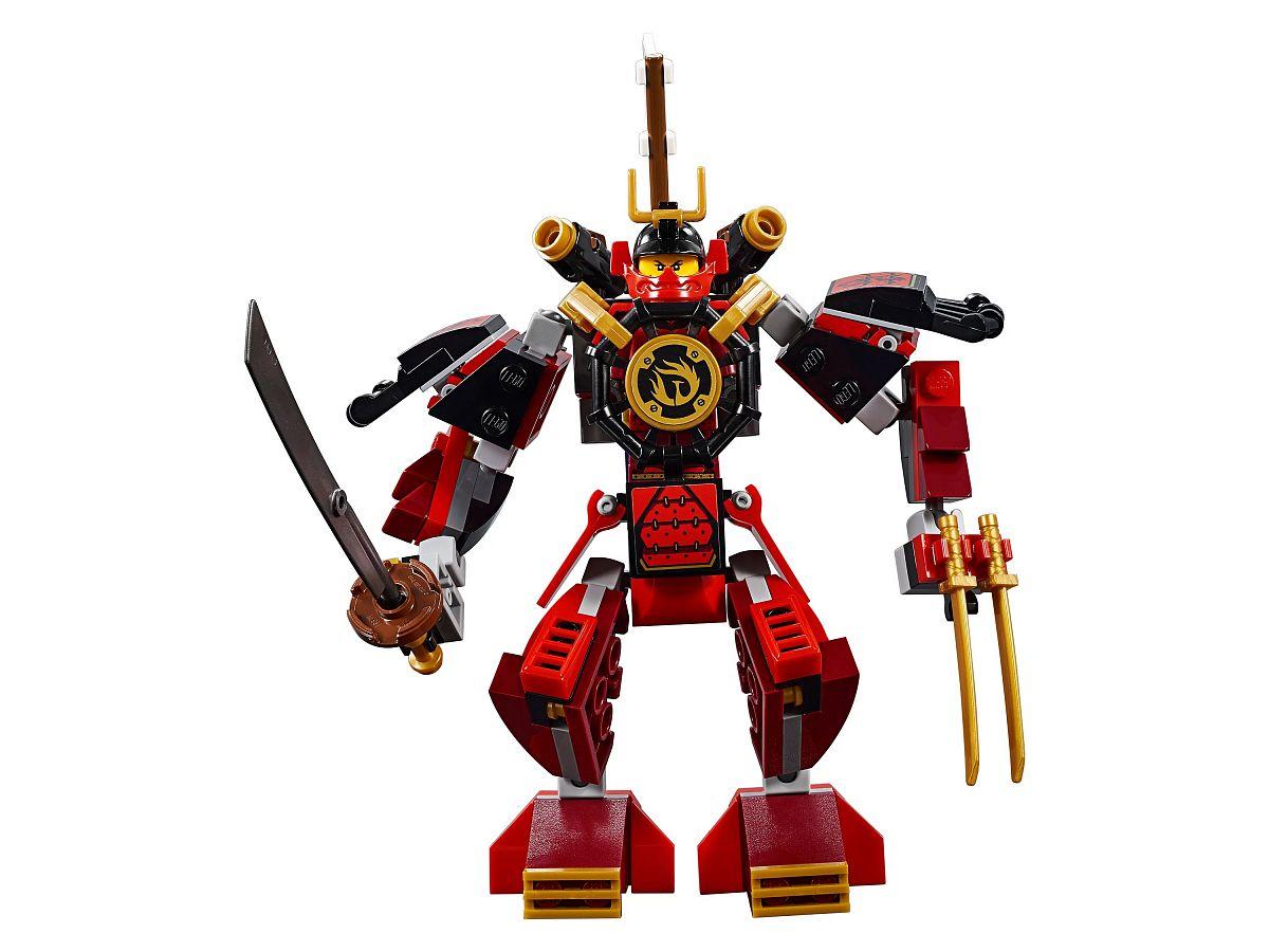 Конструктор lego ninjago робот-самурай